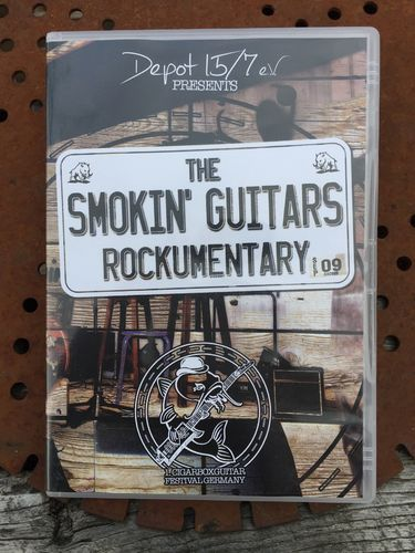 The Smokin Guitars Rockumentary CD/DVD